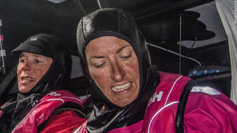 Dee Caffari has joined Team SCA for leg 2 of the Volvo Ocean Race from Cape Town to Abu Dhabi.