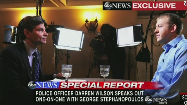 nr granderson darren wilson speaks out abc ferguson michael brown_00004109.jpg