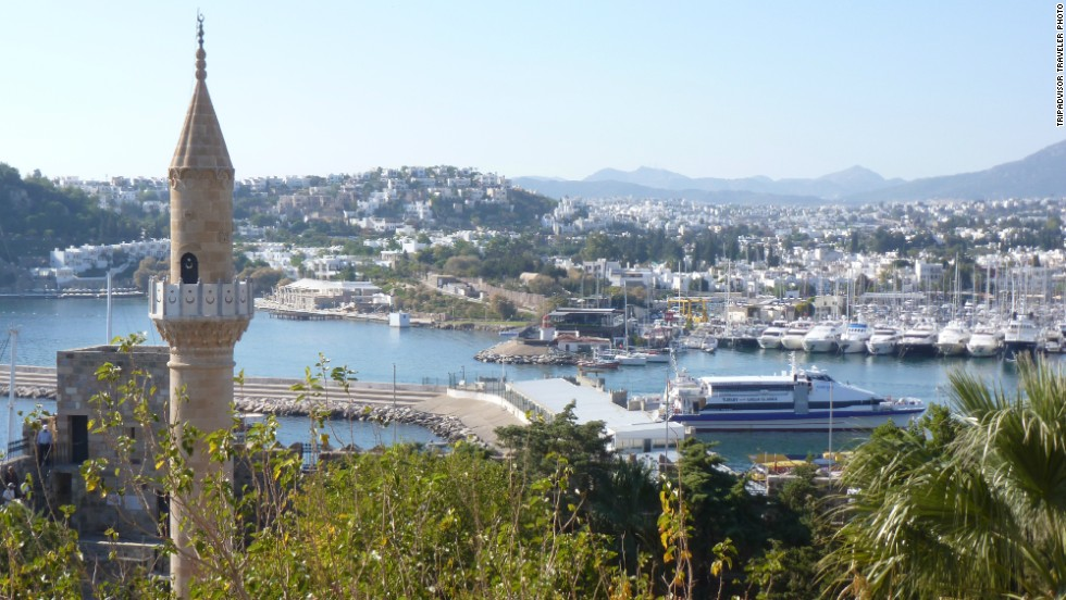 <strong>5. Bodrum City, Turkey: </strong>Bodrum City is popular with TripAdvisor travelers for the Castle of St. Peter and the Bodrum Museum of Underwater Archaeology. They also recommend the mezze and kebabs at Gambilya Natural Cuisine.