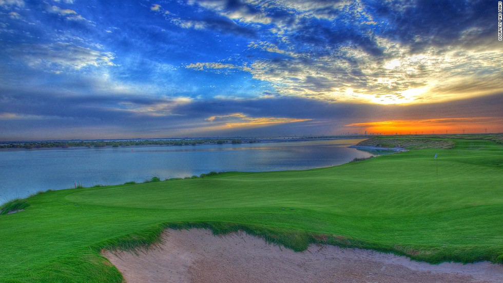Abu Dhabi's Yas Links is the first Middle East golf course designed by course architect Kyle Phillips. Completely built on reclaimed land, the course has fantastic views and a variety of challenges.