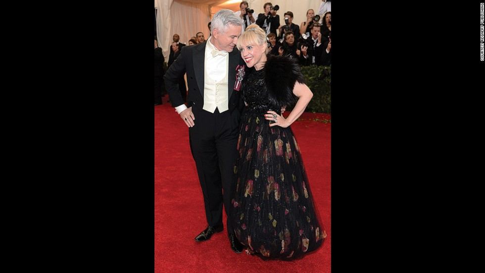 Director Baz Lurhrmann also benefited from Greenfield's sartorial expertise when he attended the Met Gala this year. They had worked together previously on costumes for <em>The Great Gatsby.</em>