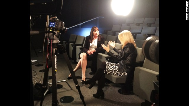 CNN's Kelly Wallace recently sat down with the Academy Award winning actress and director.