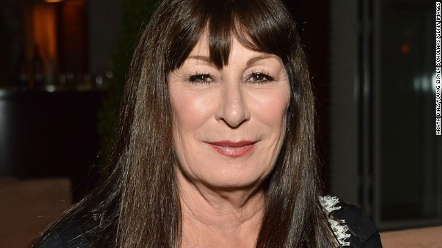 WEST HOLLYWOOD, CA - OCTOBER 15:  Anjelica Huston attends the Malcolm Gladwell and Lisa and Eric Eisner in support of YES event at Sunset Tower Hotel on October 15, 2014 in West Hollywood, California.  (Photo by Araya Diaz/Getty Images for Young Eisner Scholars)