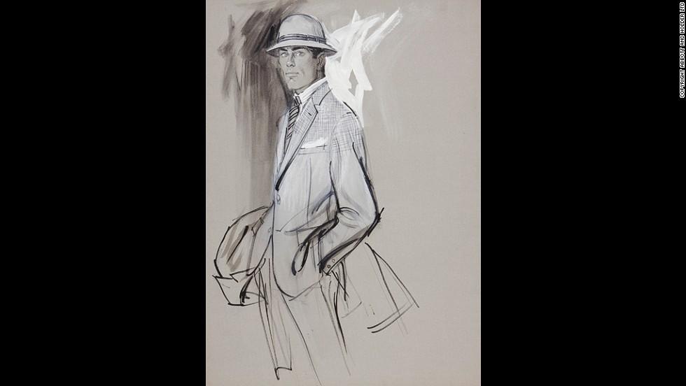 Brian Stonehouse Fashion Illustrator