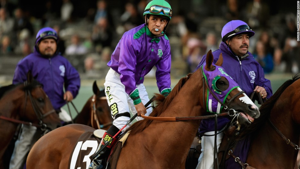 Following a rest period, California Chrome returned for the Breeders' Cup Classic in November, but had to settle for third in a race marred by controversy.