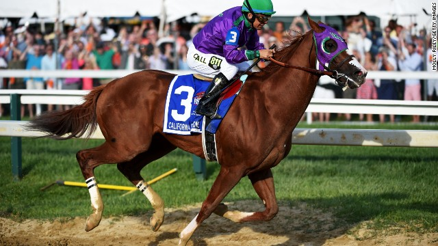 California Chrome's eventful year
