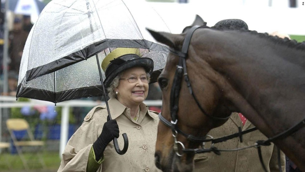 As well as having a number of races named after her, the Queen hosts the annual Royal Windsor Horse Show.