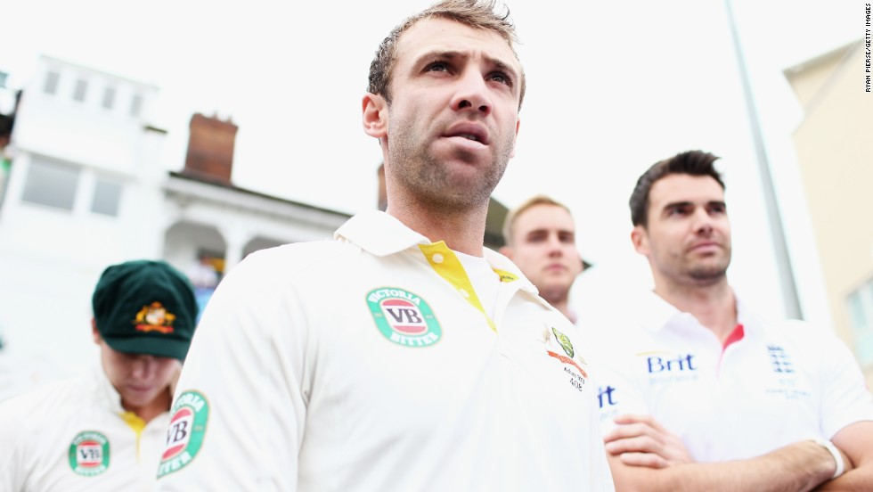 """Phil was the new young gun in Aussie cricket who had burst onto the scene,"" wrote Nick Compton of his friend Phillip Hughes who is dead at only 25."