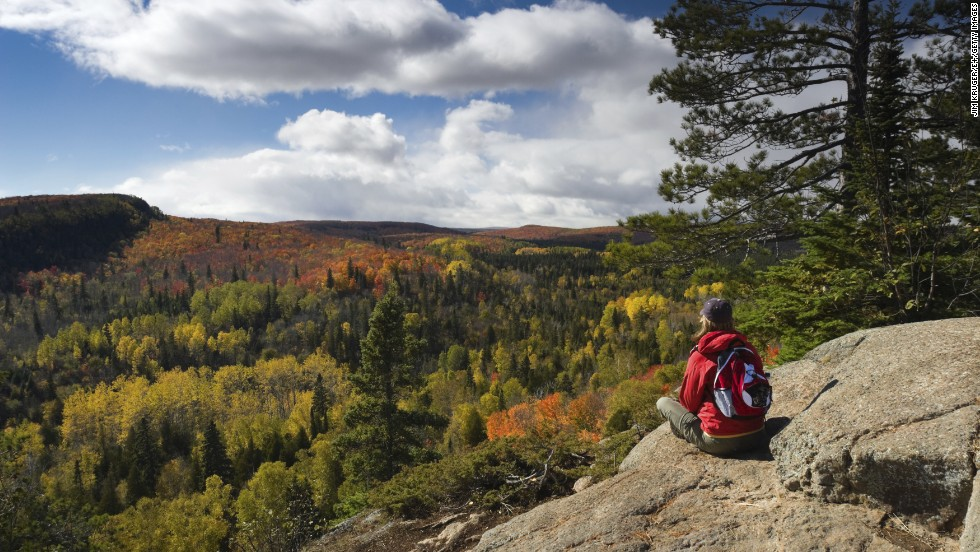 9. There is so much nature to explore from your base in Duluth, Minnesota -- hometown to more than 150 Olympians. There's Lake Superior for the water enthusiasts, snowy mountains for the winter sports fans and the 296-mile Superior Hiking Trail going from Duluth to Canada.