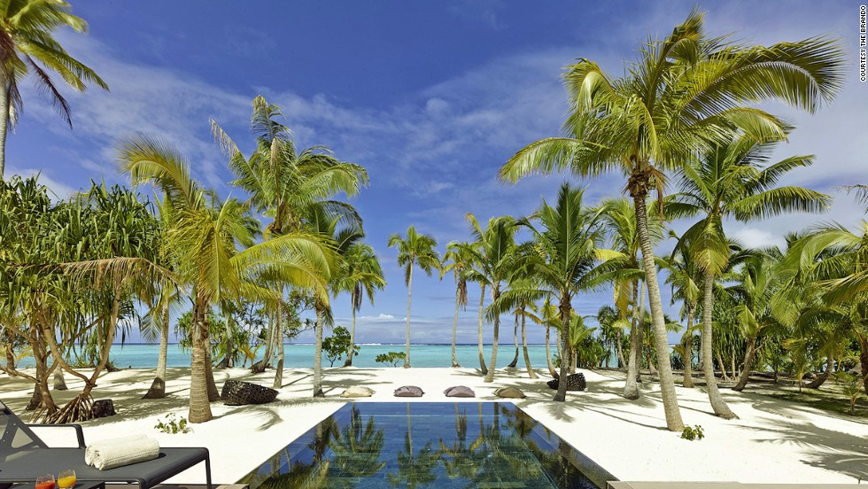 "In keeping with Marlon Brando's passion for conservation and sustainability, the Brando in Tetiaroa, French Polynesia, has an on-site organic garden and ""ecostation"" staffed by research scientists."