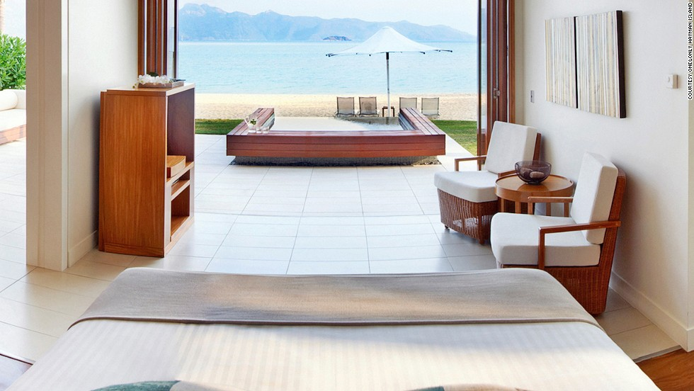 "How many resorts can accurately have the address ""Great Barrier Reef""? Not only can guests explore the famed coral reef at One&Only Hayman Island, they can get signature spa treatments out at sea."