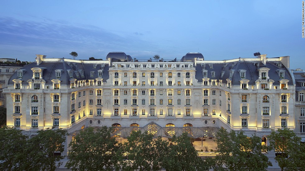 After four years of restoration, The Peninsula Paris now has high-tech conveniences, such as control tablets. The original 1908 hotel was the first to offer en-suite bathrooms when it opened.