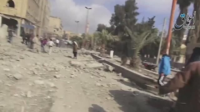 Airstrikes shift to ISIS 'capital'