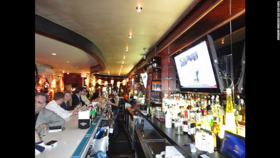Try your hand at a low-risk stock market at New York's Exchange Bar and Grill, where alcohol prices fluctuate in 25-cent increments with supply and demand.