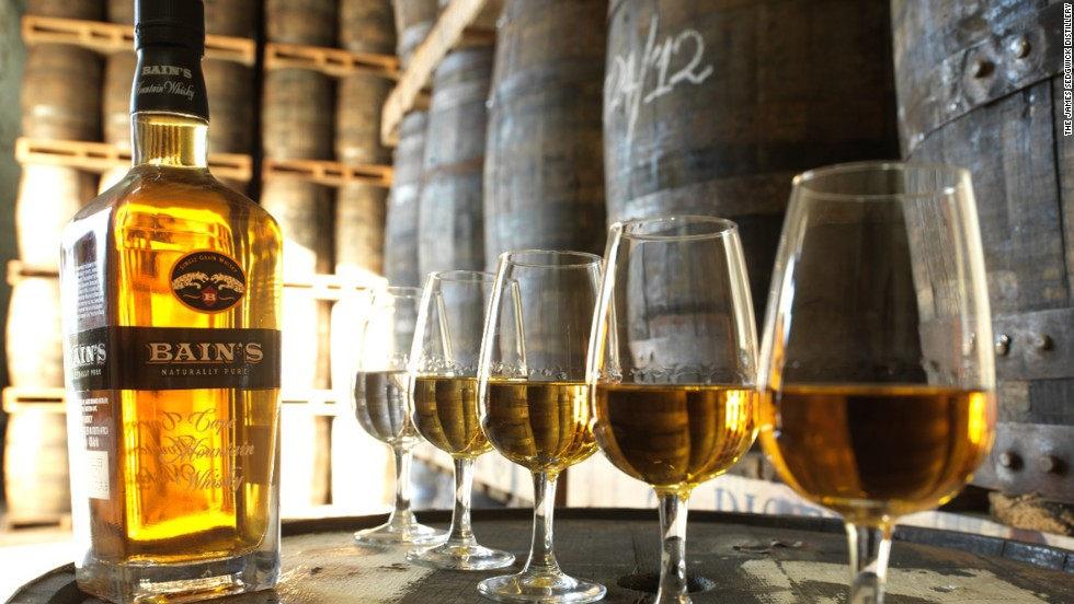 Launched in 2009, Bain's Cape Mountain Whisky was the first single grain whisky to come from South Africa, meaning it is the product of one grain distillery. The drink won the title of World's Best Grain Whisky at the 2013 World Whiskies Awards.