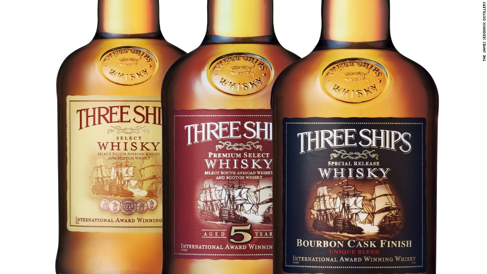 In 2012 Three Ships Whisky, which is made at the James Sedgewick Distillery, was awarded the title of World's Best Blended Whisky at the Whisky Magazine's '2012 World's Best Whiskies' competition. It was the first time a South African blend won this category. The brand has won a number of awards since, including a gold outstanding medal at the 2015 International Wine and Spirit Competition for its Three Ships Single Malt.
