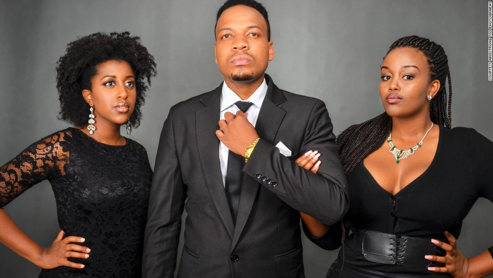 """This group takes its name from a word in a Kenyan dialect meaning """"light."""" Bryan Chweya, Maureen Kunga and Wambui Ngugi met in 2008 and wrote a few songs for fun -- and have been performing all over Nairobi since then."""