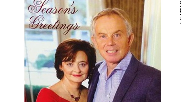 Blair Christmas card