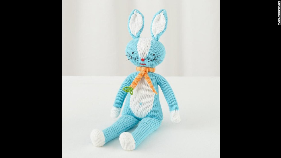 "DIY expert Kathy Beymer, founder of the craft site <a href=""http://www.merrimentdesign.com"" target=""_blank"">Merriment Design</a> and a mom of two, suggests these Knit Crowd dolls from Land of Nod. There are bunnies, mermaids, fairies, ballerinas, cats, monkeys and more. ""I really like to include some gifts that look like Santa's elves could have made them by hand,"" said Beymer. ""Last year I had the ballerina doll inside my daughter's stocking with her head peeking out and it really set the tone for our Christmas morning."" ($29.00 for 14"" size)"