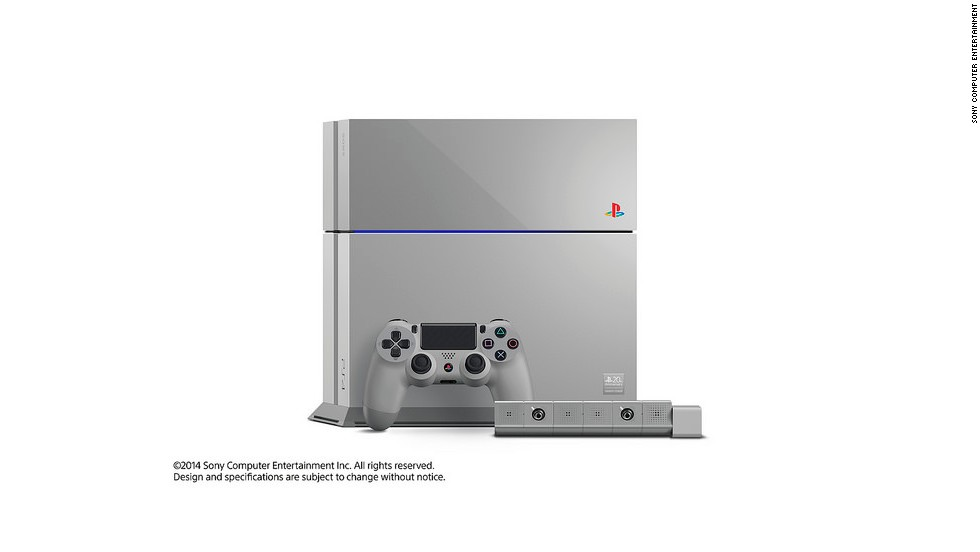 The 20th Anniversary PlayStation 4 comes in the gray color of the original PlayStation and bears other imagery harking back to the history of the console. Only 12,300 will be released globally, a nod to 12/3, or December 3, the date the console was released in Japan in 1994. Here's a look at the console through the years.