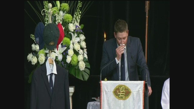 Michael Clarke's emotional eulogy
