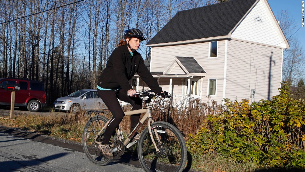 "<strong>October 30:</strong> Kaci Hickox leaves her home in Fort Kent, Maine, to take a bike ride with her boyfriend. State authorities wanted Hickox, a nurse who treated Ebola victims in West Africa, to avoid public places for 21 days -- the virus' incubation period. But Hickox, who twice tested negative for Ebola, <a href=""http://www.cnn.com/2014/10/30/health/us-ebola/index.html"">said she would defy efforts</a> to keep her quarantined at home."