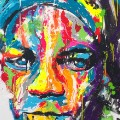 street art dubai oneMizer Basquiat drips