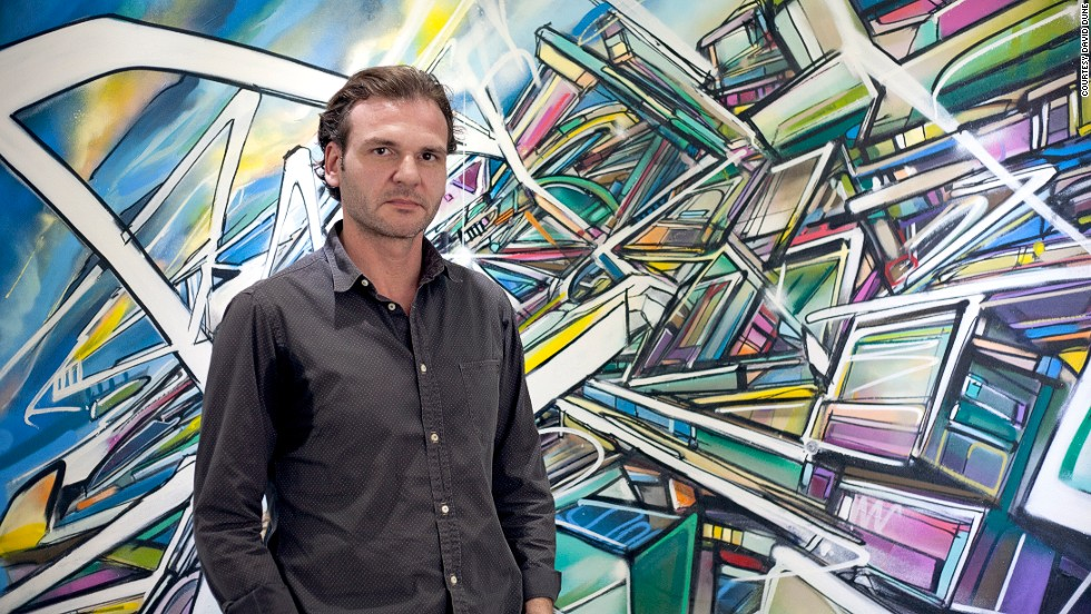 """One of our missions is to help the local guys and to make people from the region understand that street art is not about degradation,"" says Thomas Perreaux-Forest, co-founder of Dubai's Street Art Gallery."