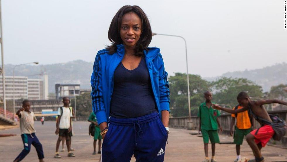 """This virus is about sweat, blood, and interaction,"" said the country's Football Association president  Isha Johansen (pictured). ""And that's football. There's a lot of interaction, there's a lot of sweat and blood."""