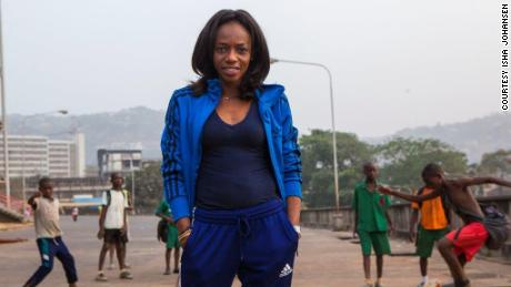 Sierra Leone Football Association President, Isha Johansen.