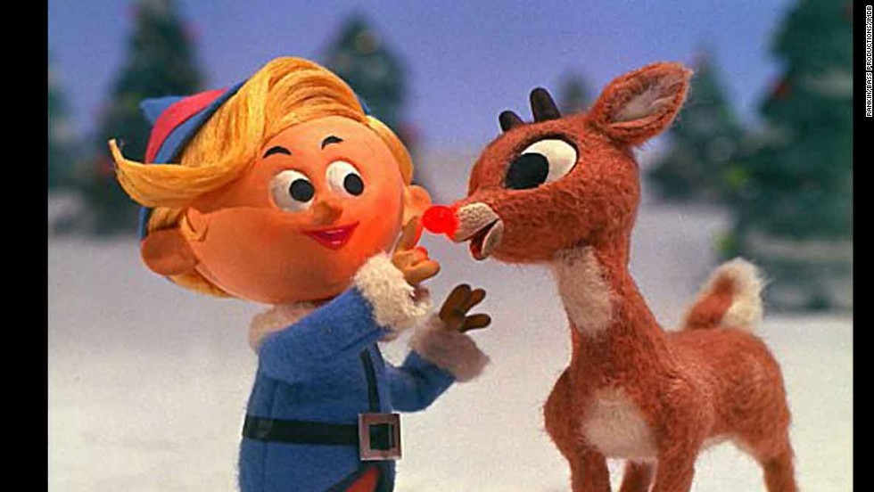 """Rudolph the Red-Nosed Reindeer"": It's been more than a half-century since Rankin/Bass's animated ""Rudolph the Red-Nosed Reindeer"" premiered on NBC, and it's still just as beloved. It doesn't quite feel like the holidays until we spot this old-school stop-motion special on TV, and it's hands-down one of our holiday favorites."