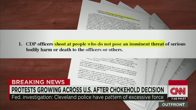 DOJ report: Cleveland police 'reckless'