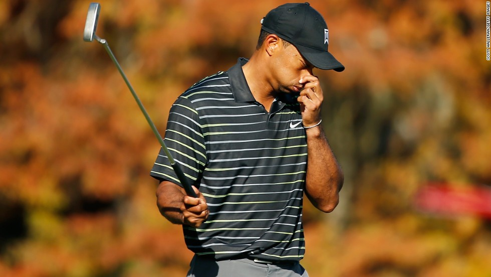 Tiger Woods was forced to withdraw in his second PGA start of the year, suffering back spasms
