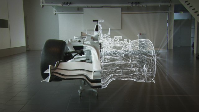 What's special about the design of a F1 car?