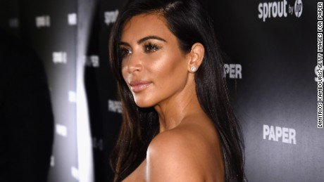 Kim Kardashian attends Paper Magazine, Sprout By HP & DKNY Break The Internet Issue Release at 1111 Lincoln Road on December 4, 2014 in Miami, Florida.
