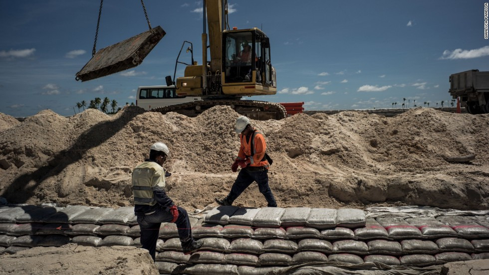 Kiribati residents and their government are engaged in seemingly perpetual construction of seawalls. Seawalls provide temporary relief but need maintenance on a regular basis.