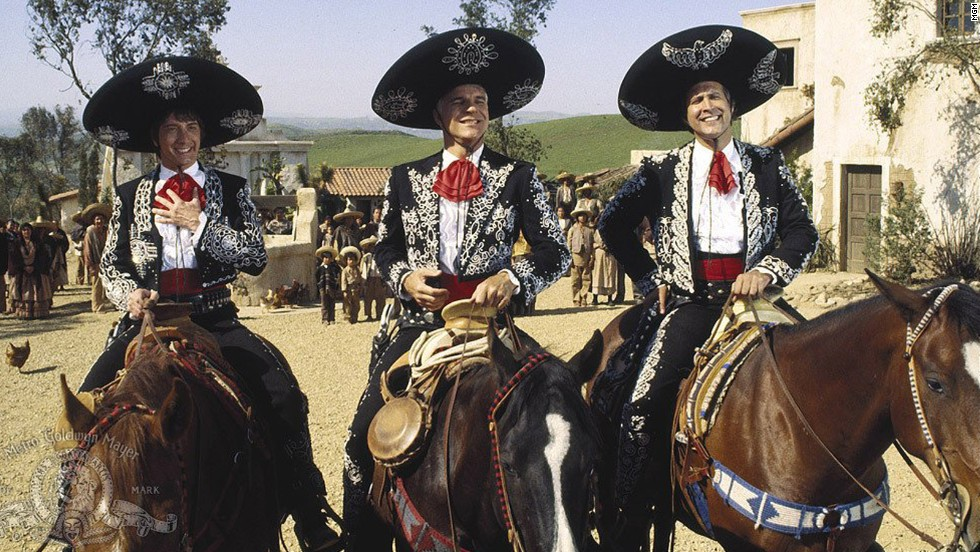 "How could Hollywood go wrong with a movie starring comedy kingpins Martin Short, Steve Martin and Chevy Chase? Ebert's answer: ""Three Amigos."" <a href=""http://www.rogerebert.com/reviews/three-amigos-1986"" target=""_blank"">""This movie is too confident, too relaxed, too clever to be really funny.""</a>"