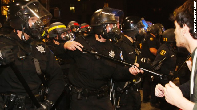 Chokehold protests in California