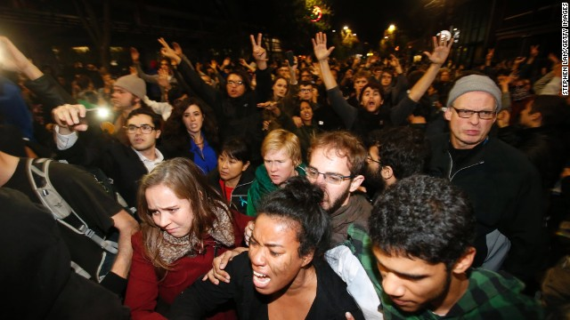 Protests after Eric Garner grand jury decision
