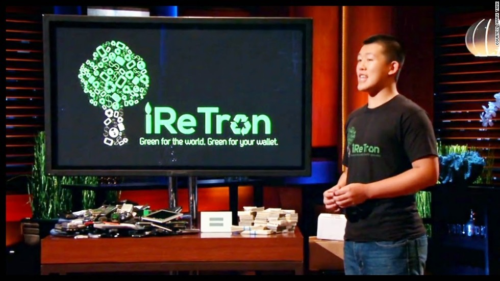 "Electronics recycling company iReTron means 17-year-old Jason will make his first million in just a few months. He successfully secured investment from businessman Mark Cuban on the popular TV show ""Shark Tank"""