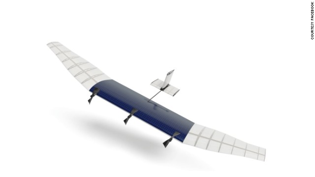 Facebook has built a drone aircraft designed to beam the Internet from high in the sky. (Click to expand)