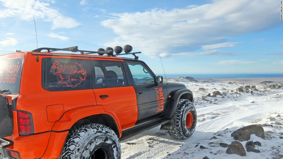 Iceland Safari organizes driving adventures up several of the country's many volcanoes.