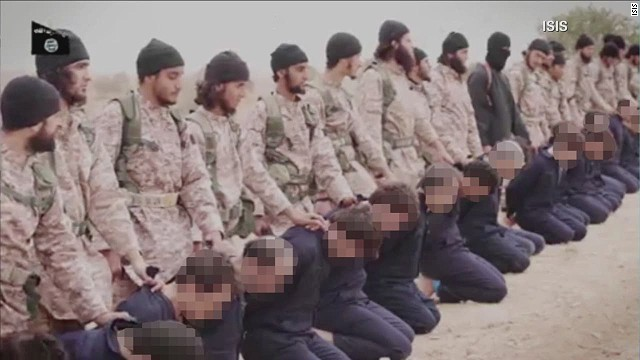 ISIS often carries out executions via beheadings