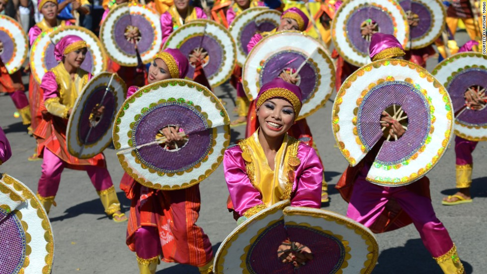 "Dancers in General Santos City, Philippines, celebrate the <a href=""http://ireport.cnn.com/docs/DOC-934022"">Kalilangan Festival</a> in February 2013. The event shows ""the unity of every tribe here in our country,"" said the photographer, Eli Ritchie Tongo."
