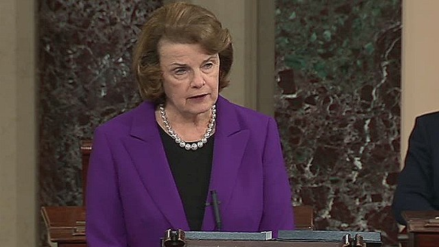 Feinstein: CIA actions a stain on values