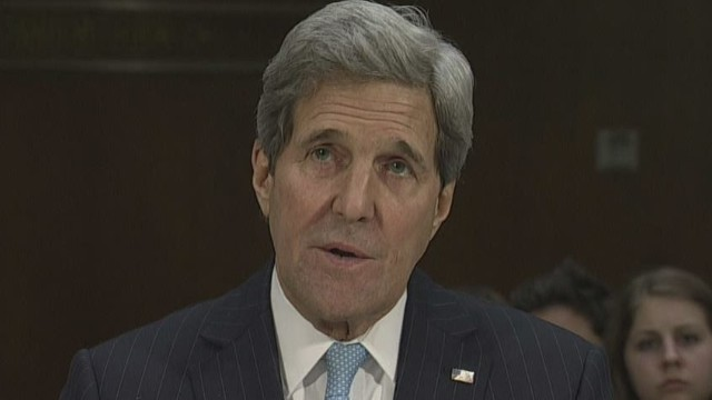 Kerry seeks approval for military force