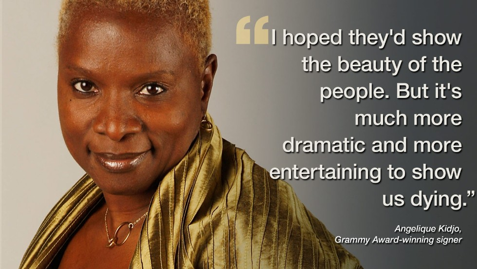"Ahead of her much anticipated performance at London's Southbank Centre in November, Grammy Award-winning singer-songwriter Angelique Kidjo had a few choice words to explain the<a href=""http://edition.cnn.com/2014/11/12/world/africa/angelique-kidjo-do-i-look-ebola/index.html"" target=""_blank""> media's representation of ""Fear-bola.""</a> The celebrated artist is well-known for her outspoken personality, and she didn't disappoint fans."