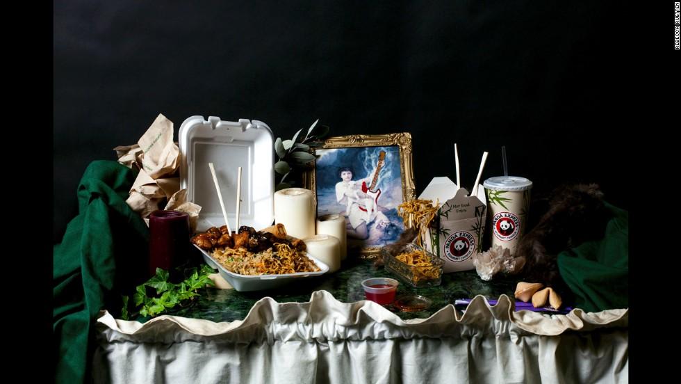 A Panda Express meal.