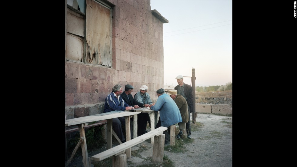 Older men still live in Lichk. These men serve as a source of authority over unruly schoolboys and provide support for their daughters-in-law.