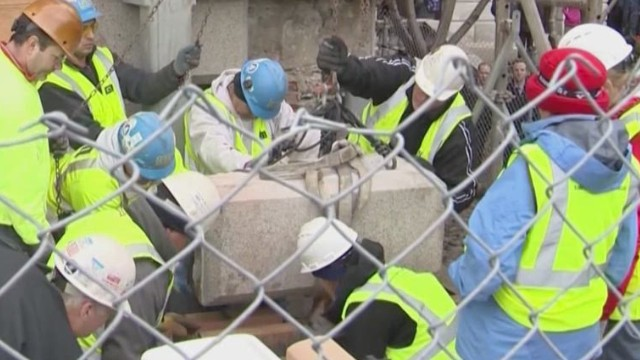 1795 time capsule unearthed in Boston